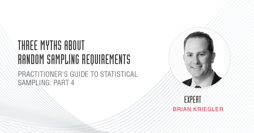 Brian Kriegler expert opinion
