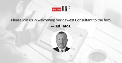 Ted Tatos EconOne Consultant