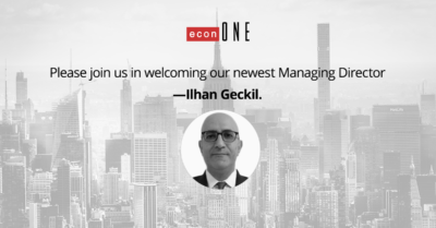 Ilhan Geckil EconOne Managing Director